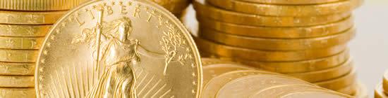 pièces en or cotées